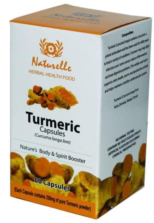 කහ -රුව වඩන, විෂබීජ නසන කහ-www.herbalvoice.lk-naturalle turmeric capsules