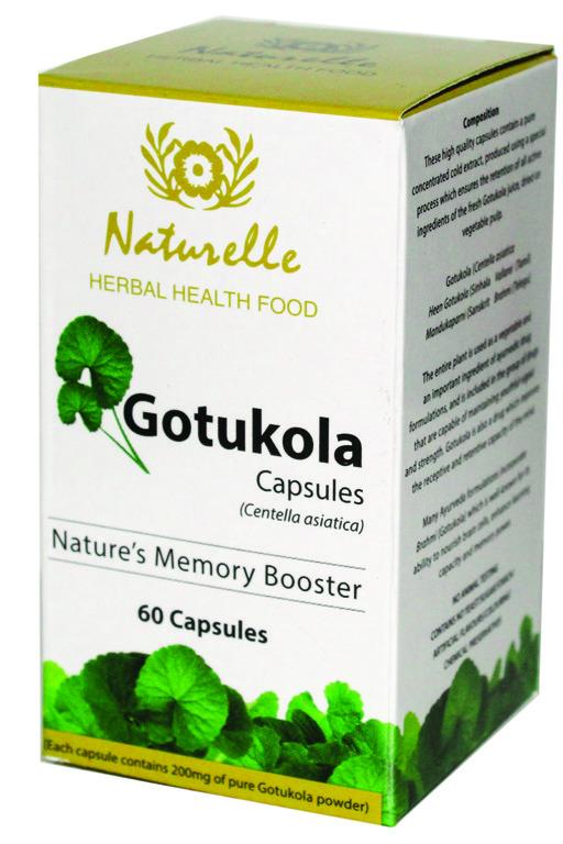 ගොටුකොළ- Gotukola Capsules-www.herbalvoice.lk