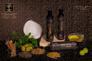 Natural Ayurvedic Hair Oil-www.herbalvoice.lk