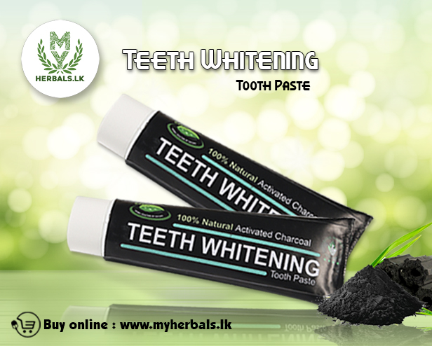 Charcoal Tooth Paste- www.herbalvoice.lk