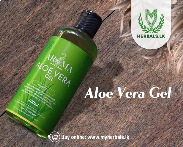 Aloe Vera Gel --Aroma Natural Products-www.herbalvoice.lk